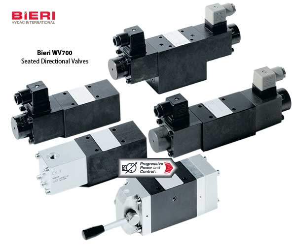Bieri WV700 seated directional valves