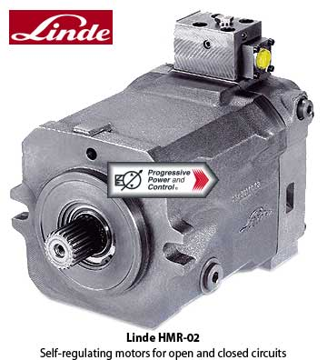 Linde hydraulic for Variable displacement hydraulic motor