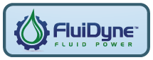 Fluidyne Fluid Power logo