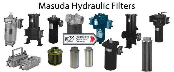Masuda hydraulic filter photo collage