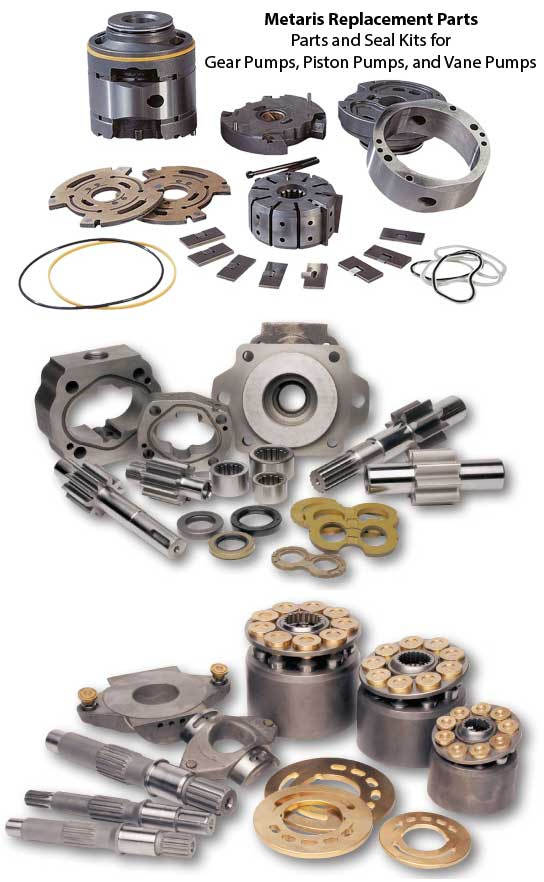 Metaris hydraulic seal kits and replacement parts available