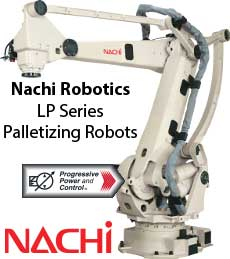 Nachi LP Palletizing Robot