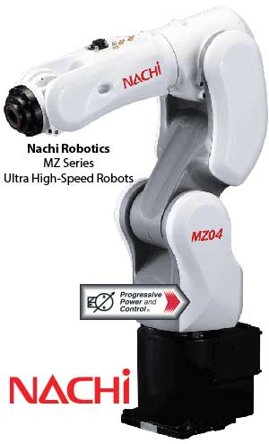Nachi MZ Ultra High-Speed Robot