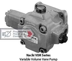 Nachi VDR variable volume vane pump