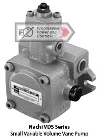 Nachi VDS variable volume vane pump