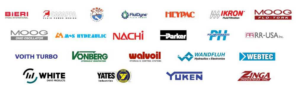 hydraulic manufacturers logos
