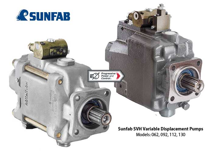 Sunfab hydraulics svh variable displacement hydraulic for Variable displacement hydraulic motor