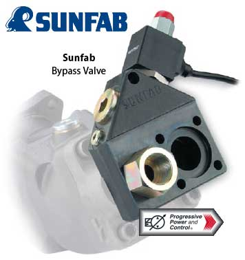 Sunfab Hydraulic Bypass Valve For Installation On Power
