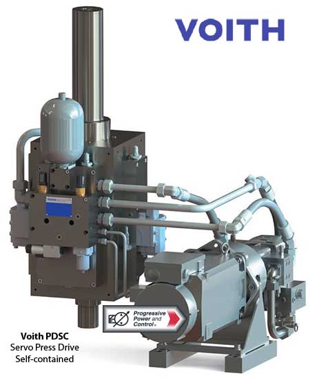 Voith PDSC servo press drive