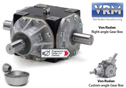 Von ruden right angle bevel gear boxes available from for Von ruden hydraulic motor