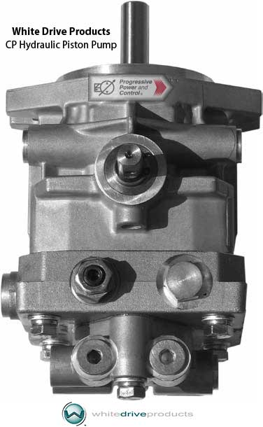 White drive products hydraulic pumps cp cpl model series for Variable displacement hydraulic motor